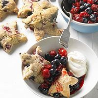 these look so cute! :: Cherry Berry Shortcake Stars