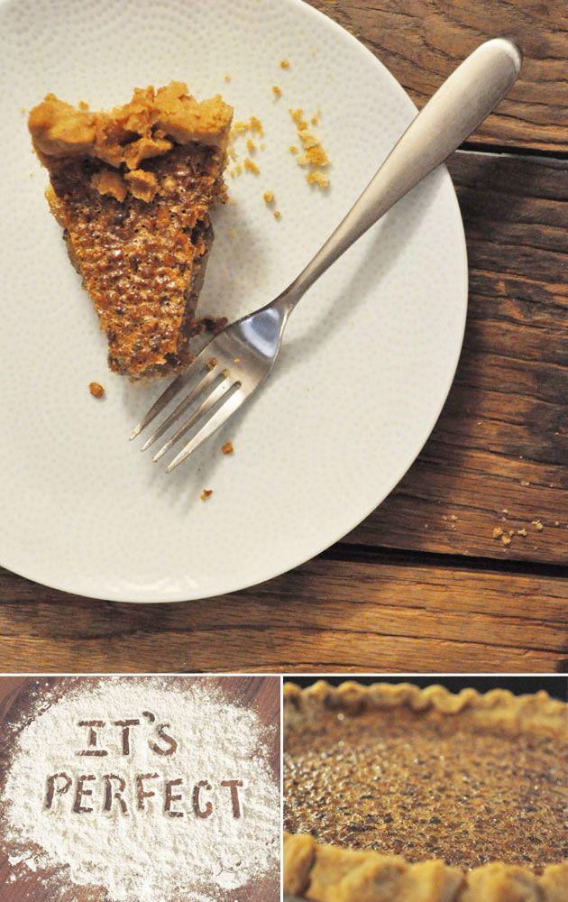 The Pioneer Woman's Pecan Pie DIY. Oh me oh yum.