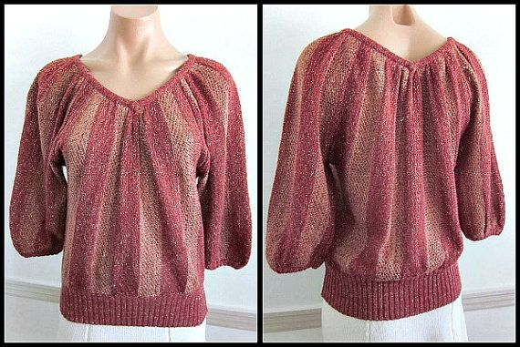 Gold Lame Sweater 67
