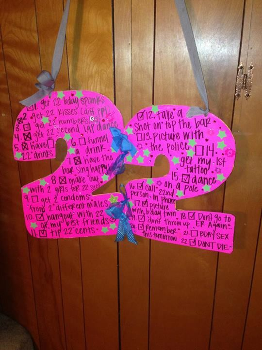 Gift Ideas For Your Boyfriends 22nd Birthday Sign Things To Do On What A Great