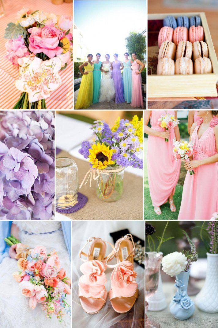 Easter Wedding Style Three Ways | OneWed follow http://pinterest.com/ahaishopping/