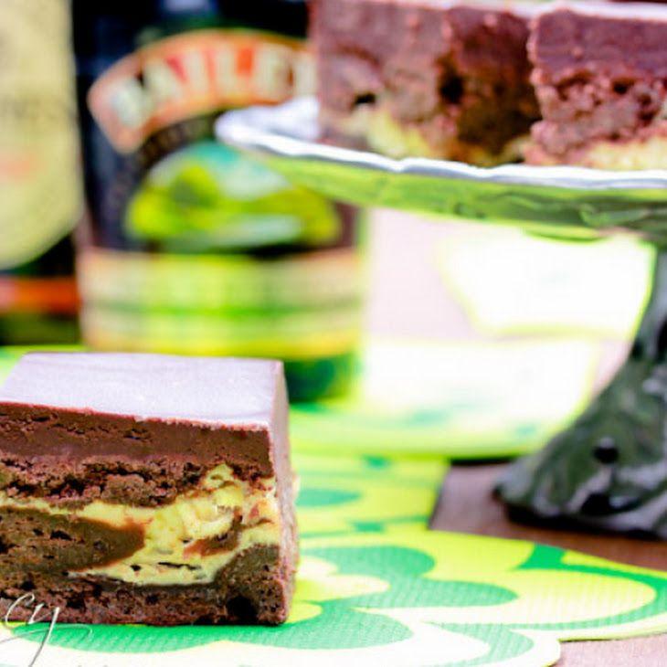 Irish car bomb brownies | recipes cookies/dessert | Pinterest