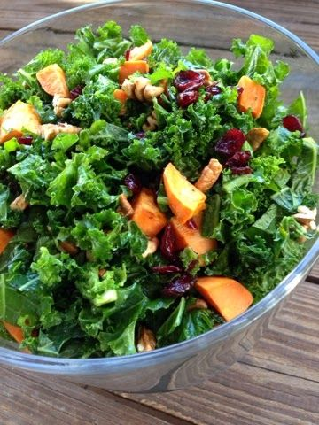 Love to Eat and Run: Holiday Kale Salad | YUM | Pinterest
