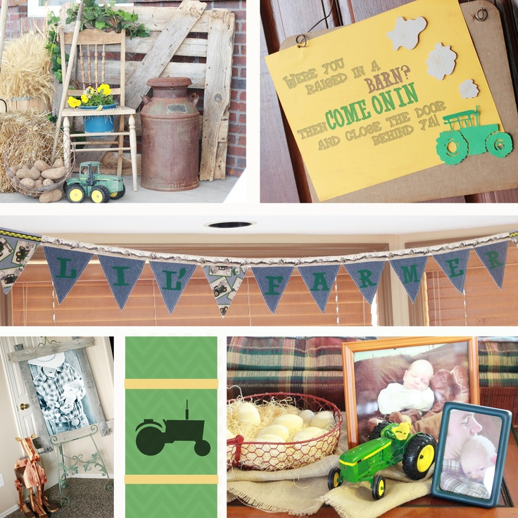 rememberings farm baby shower crafty pinterest