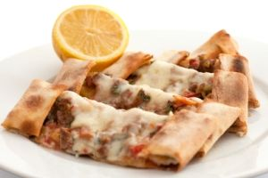 Pizza Breakfast Wrap