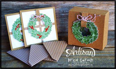 Love this Wonderful Wreath Notecard Set