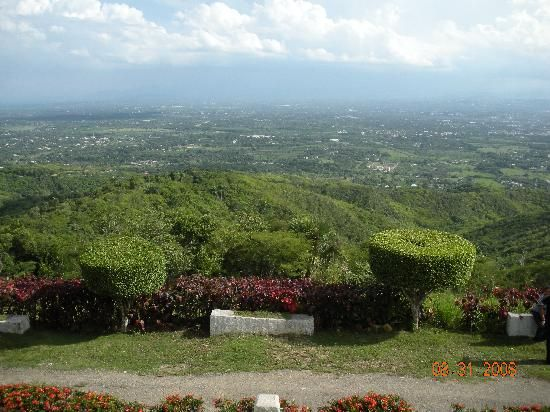 View from the balcony of the Camp David Restaurant in Santiago, Domincan Republic