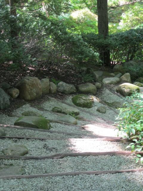 Japanese stroll garden path garden ideas pinterest for Japanese garden path
