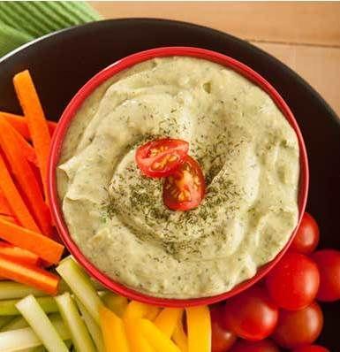 Vegetarian Green Goddess Dressing. Enjoy it on any salad, on veggies ...