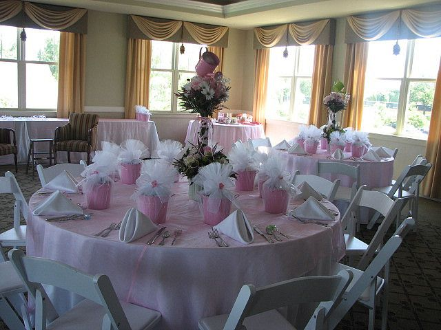 Love This Baby Shower Tablescape Princess Aurora