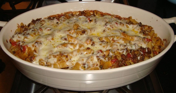 Chili Con Queso Pasta Bake | Main Dishes | Pinterest