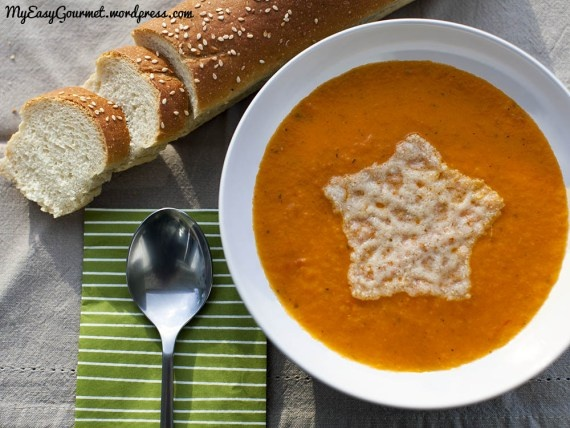 Tomato soup For the soup 2kg. tomatoes or big plum tomatoes 8 garlic ...