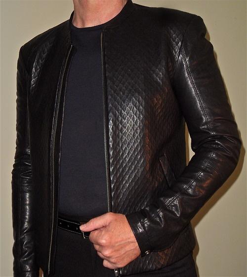 gold+leather+jacket
