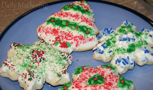 Soft Christmas Cookies   food for the soul   Pinterest