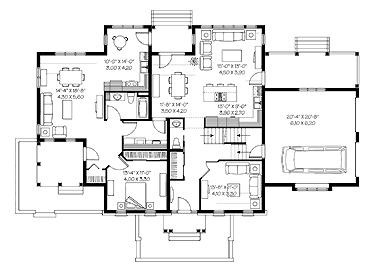 Multi Family House Plan Dream Home Pinterest