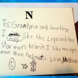 funny things to write for father's day