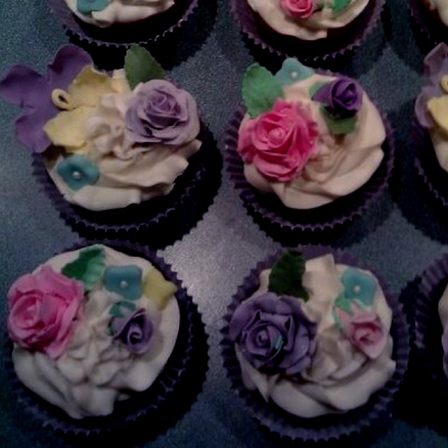 The Sinful Cupcake & Cafe. Vintage collection. Skippack~