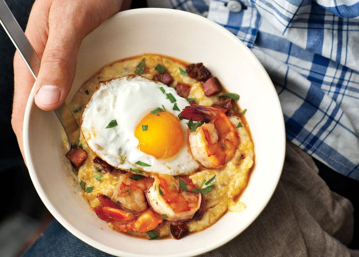 Shrimp & Grits - Bon Appétit- making this tonight with a few ...