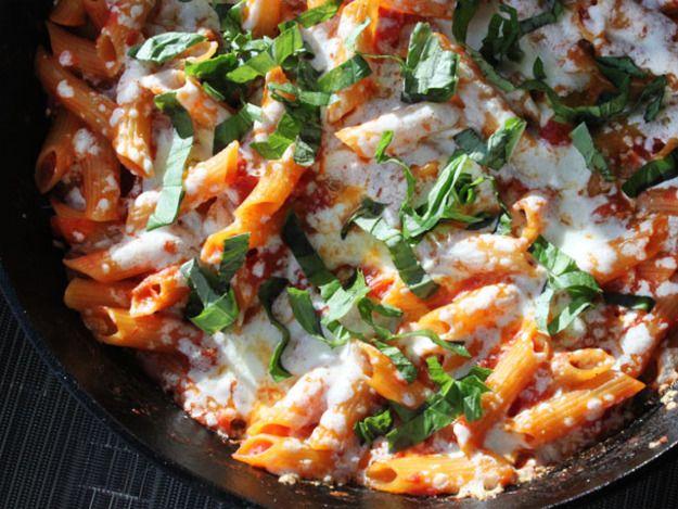 Skillet Baked Ziti   Serious Eats : Recipes