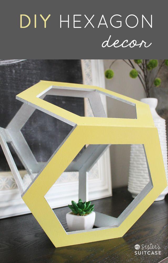 DIY Hexagon Decor!!