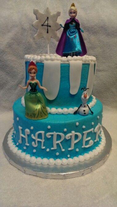 Ralphs bakery disney frozen cake party invitations ideas