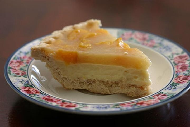 Peach Cream pie | Recipes!! FOOD!!! Everything Gastronomical!! | Pint ...