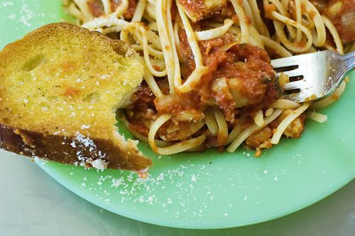 Linguine with Chicken Thighs | Recipe