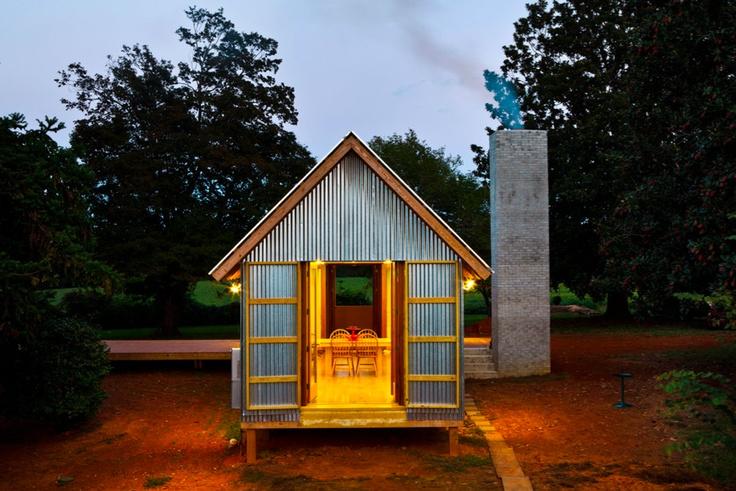 Prefab Dogtrot House By Stephen Atkinson Rob Bunkie