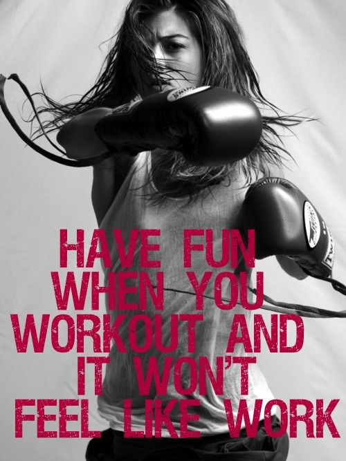 Have fun when you workout! This is a MUST for me. I will not sit on a ...