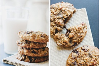 Chocolate Chip Oatmeal Cookies With Cherries + Pecans — Punchfork