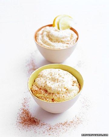 Orange-Lime Mousse | Recipe