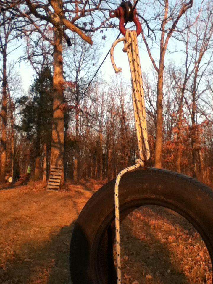 My terrific tire swing zip line backyard fun ideas to do pinterest