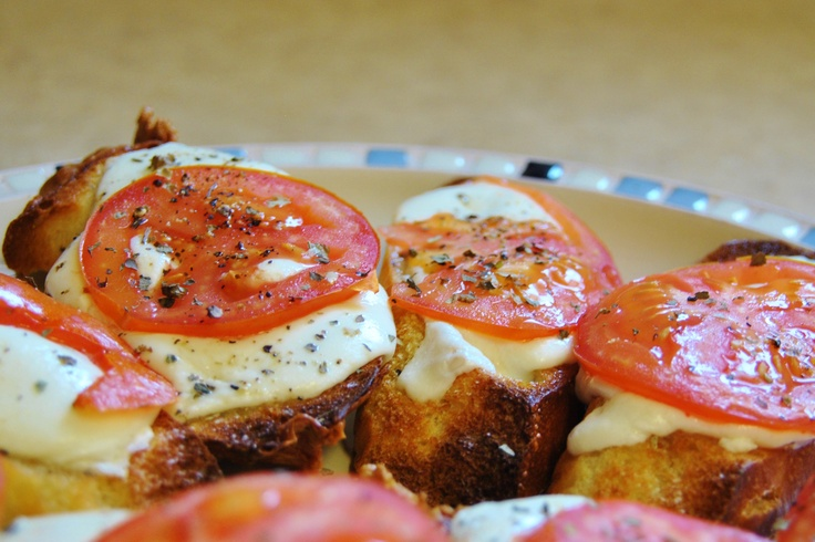 Mozzarella And Tomato Bread Recipe — Dishmaps