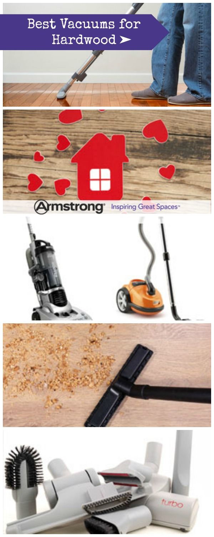 Vacuum for hardwood floors and tile