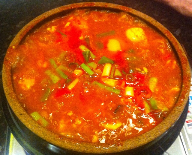 Soondubu jjigae (soft tofu stew) recipe - Maangchi.com