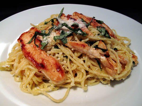More like this: spaghetti , lemon and basil .