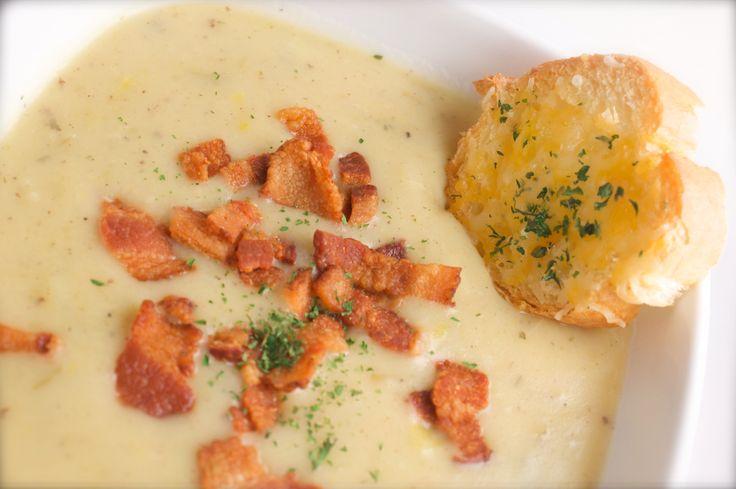 Creamy Potato Leek Soup | Recipes | Pinterest