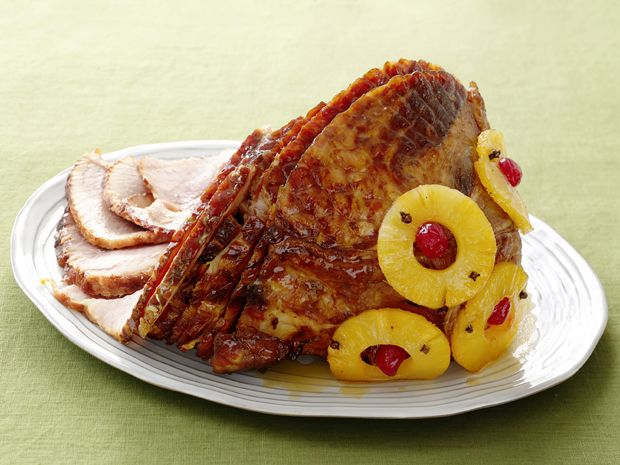 Old-Fashioned Holiday Glazed Ham from FoodNetwork.com/ Paula Dean