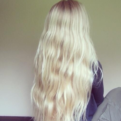 platinum blonde long hair | Long Hairstyles ♥ | Pinterest