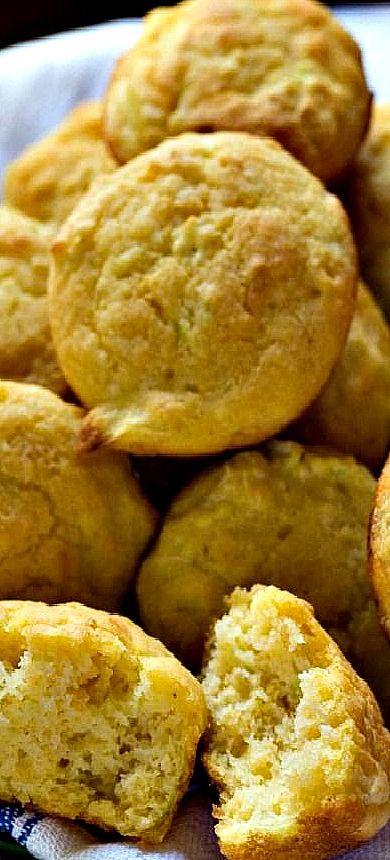 Zucchini Cornbread Muffins | Recipe