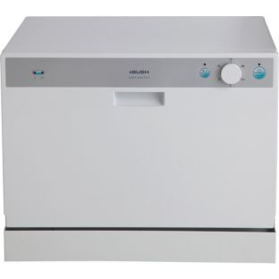 Buy Bush WQP6-3202 Table Top Dishwasher - White at Argos.co.uk - Your ...