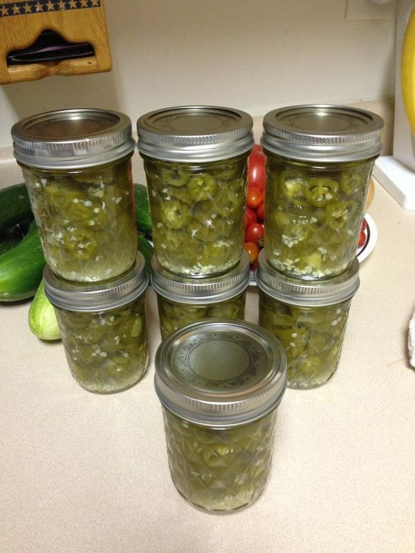 Pickled Jalapeno Pepper Rings | Canning | Pinterest