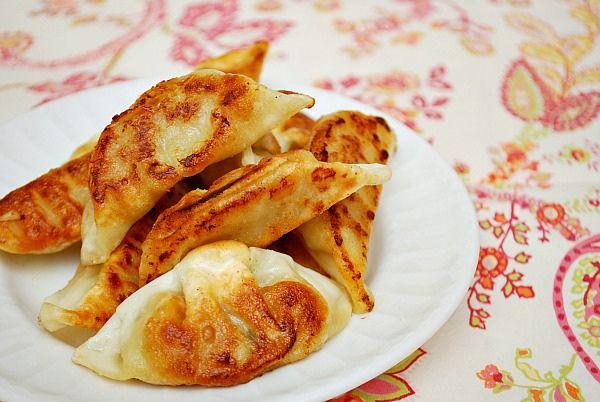 Vegetable Potstickers | Meatless | Pinterest