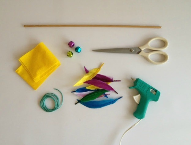 diy cat teaser toy for the four legged family members