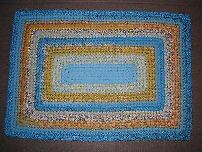 Crochet Patterns Rectangle : CROCHET RECTANGLE RAG RUGS ? Only New Crochet Patterns