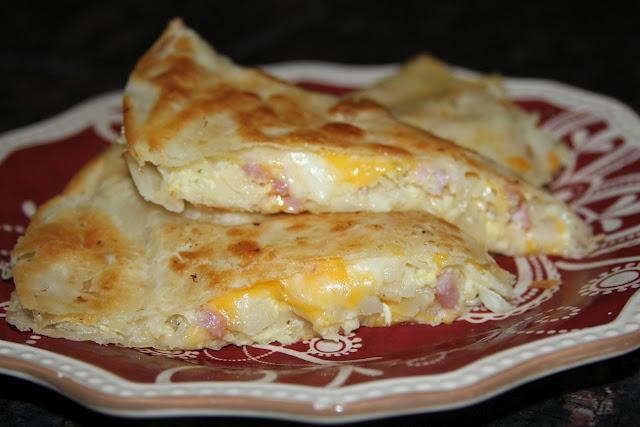 Breakfast Quesadillas | Breakfast | Pinterest