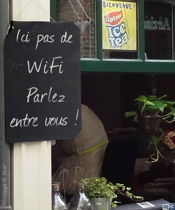 ICI PAS DE WIFI..