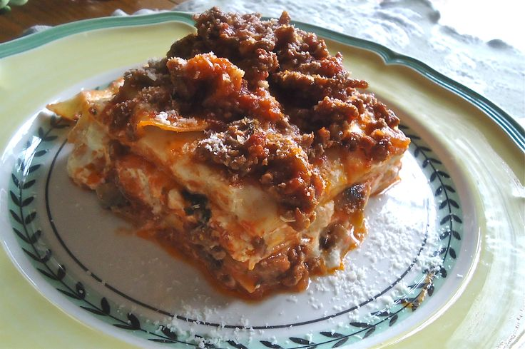 Lasagne alla bolognese! | Italian Food | Pinterest