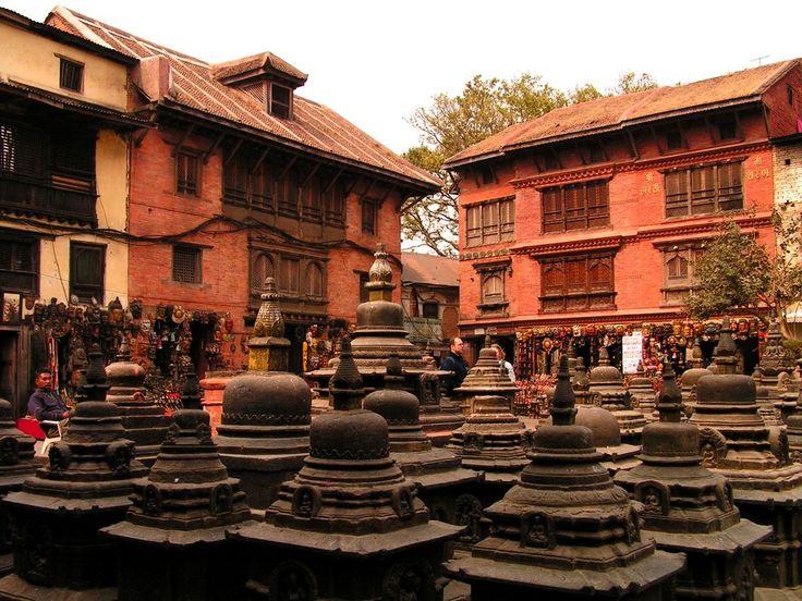 monkey temple Kathmandu, Nepal  nepal temple  Pinterest
