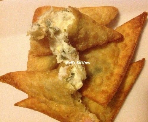 Jalapeno Popper Wontons Recipe — Dishmaps